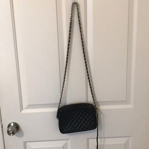 Rebecca Minkoff black chain crossbody